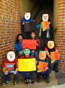 Through Manadoob, Children explore their feelings through discussion and creative activities.
